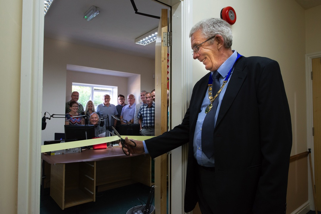 Sound Radio Wales officially open studios in Towyn & Kinmel Bay Town Hall