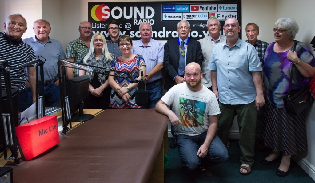 Sound Radio and Towyn and Kinmel Bay councillors