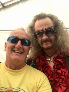 Garry Carr and the Doctor