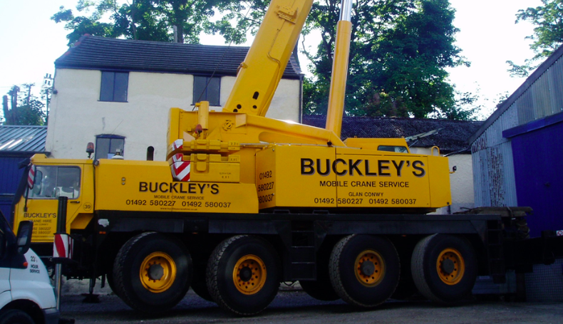 Buckley's Crane Hire become the latest supporters of Sound Radio Wales