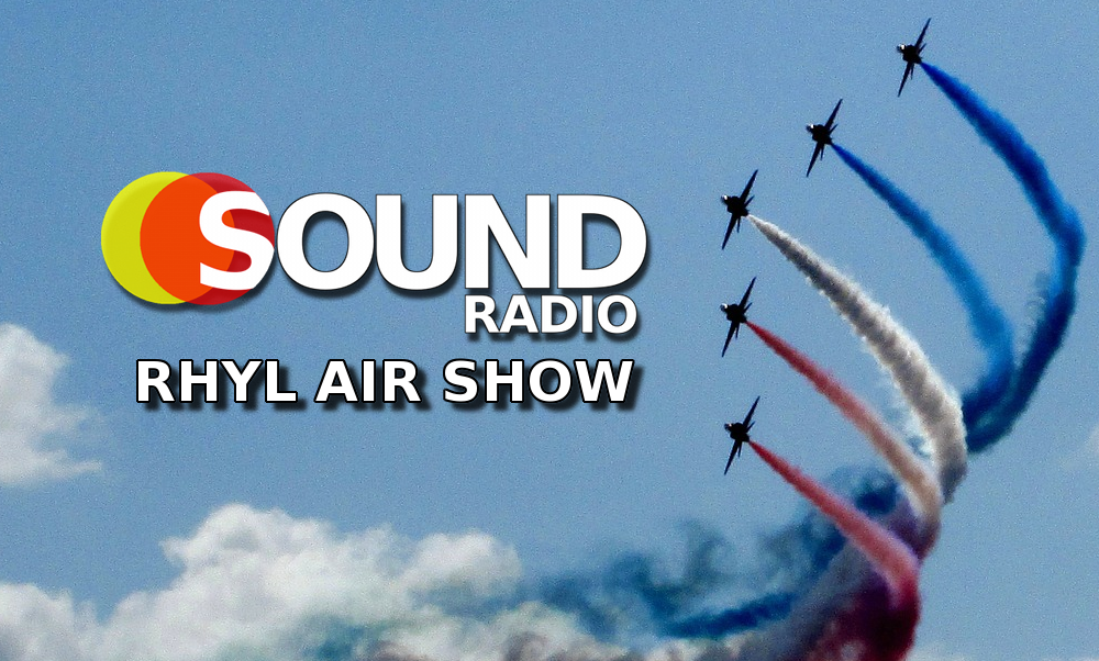 Sound Radio Wales at the Rhyl Air Show 2018