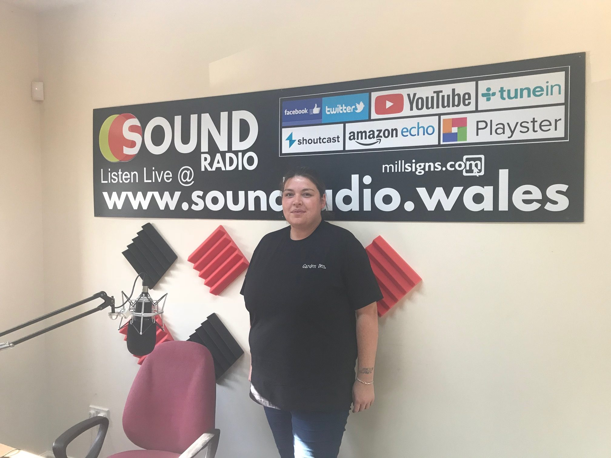 """Danielle Johnson talks about """"Wales Got Talent"""" with Sound Radio Wales"""