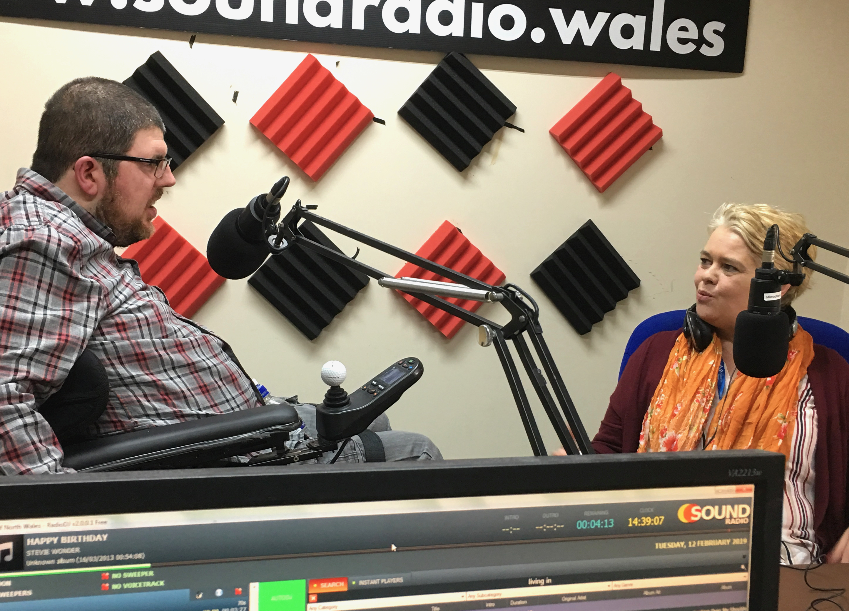 Nathan Davies and Andrea Faulkner discuss The Save the Welsh independence living grant