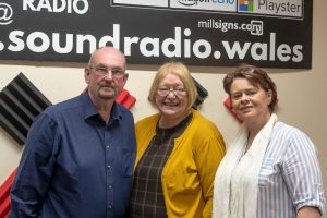 Anne Jones AM with Paul and Andrea at Sound Radio - Community Voice