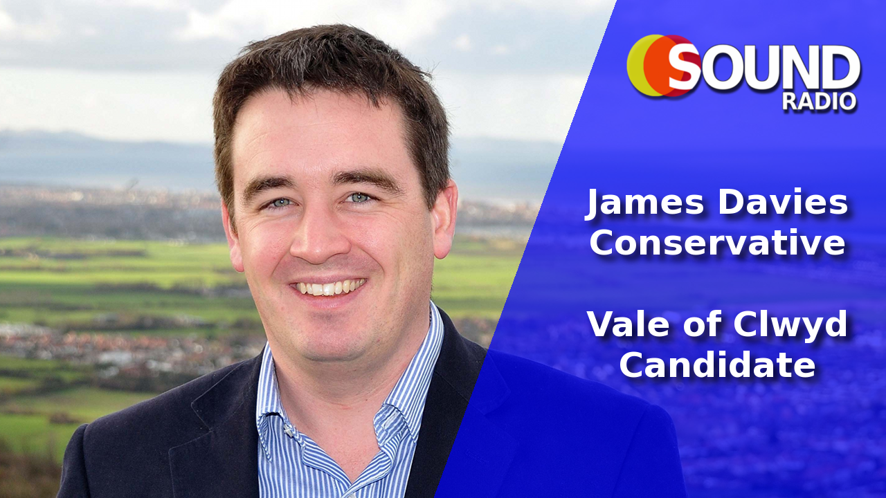 WATCH: Dr James Davies – Conservative Party, Vale of Clwyd Candidate