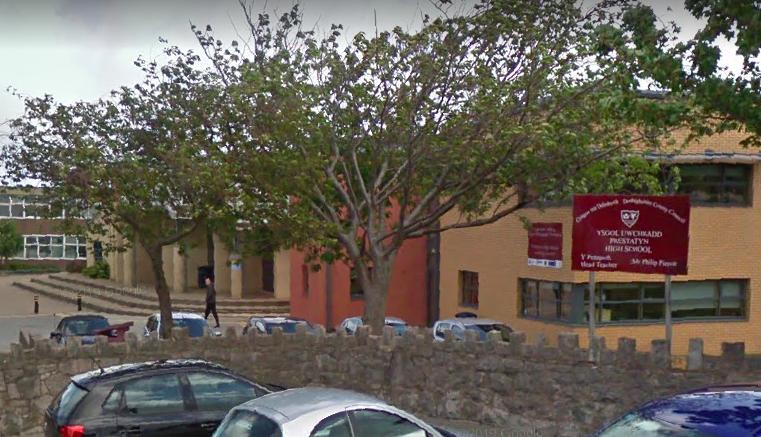 Prestatyn High School - Google Maps